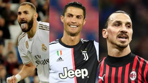 Kumpulan Aksi Backheel: Karim Benzema, Ronaldo, hingga Zlatan Ibrahimovic