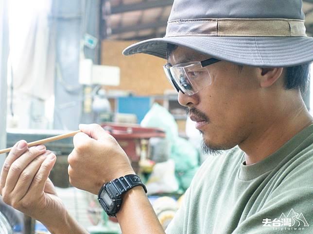 每支竹牙刷,家宏視之為竹藝品,當產品品質達到極致,自然會有賞識之人,那是職人應有的態度,「我的生活就是行銷」。