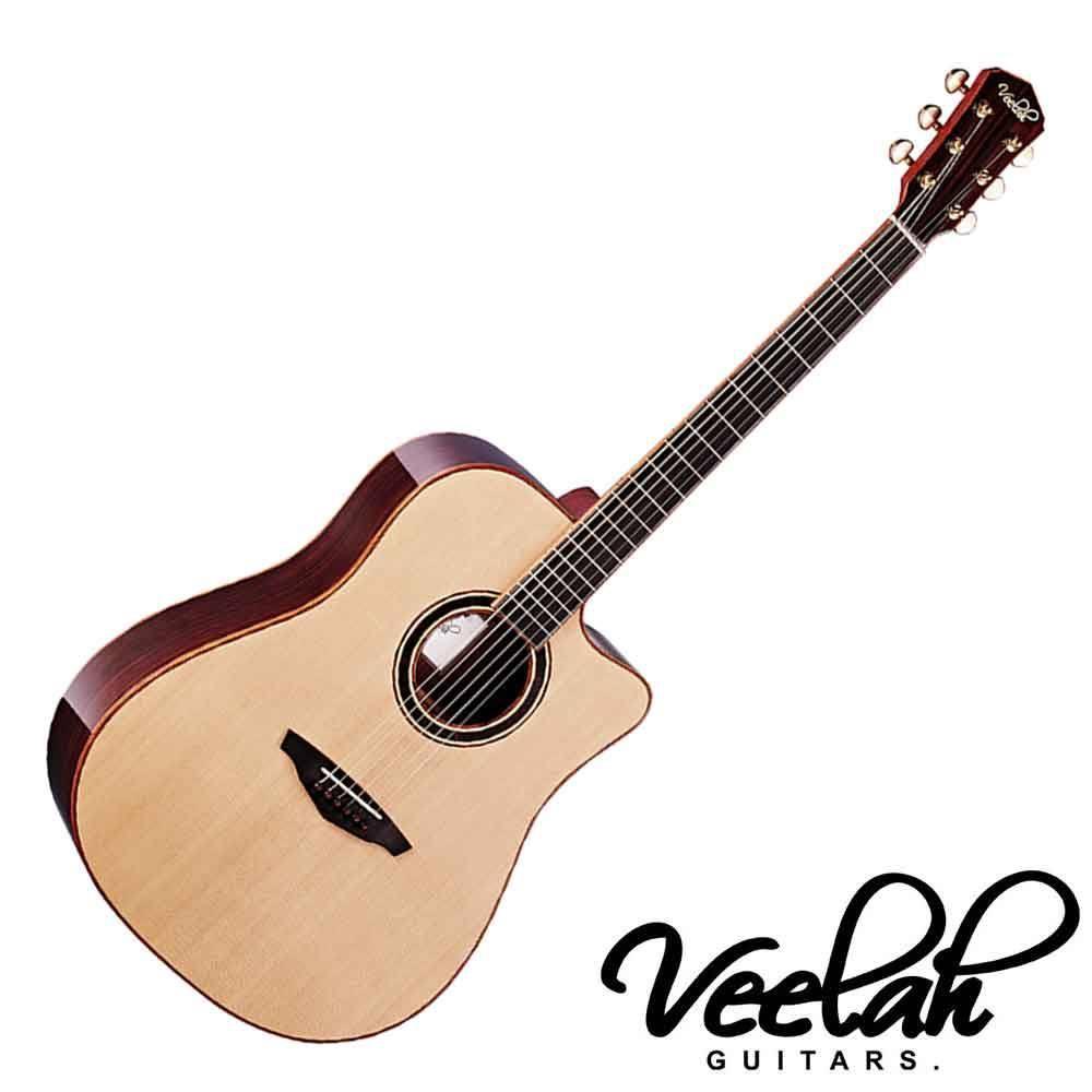 #Veelah #V6 #DC #40吋 #面背單 #民謠吉他 #雲杉面板 #玫瑰木背板 Veelah V6-DC 40吋 民謠吉他 雲杉單板 玫瑰木背側 品牌:Veelah Veelah創立於200