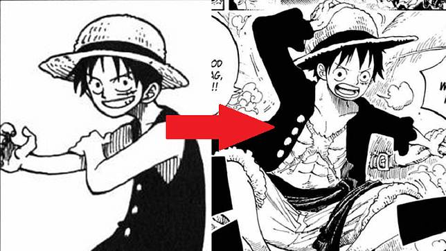 20 Tahun One Piece Yuk Kita Lihat Perubahan Luffy Dan Bajak