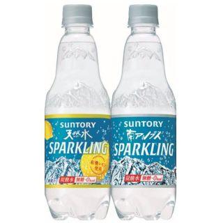 サントリー 南アルプスの天然水 スパークリングレモン/スパークリング