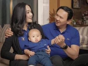 Ahok Pamer Foto Keluarga, Usai Cerita Veronika Selingkuh