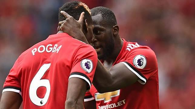 FOTO: Romelu Lukaku, Mesin Gol Baru Manchester United