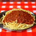ミートソース - 実際訪問したユーザーが直接撮影して投稿した新宿パスタスパゲッティーのパンチョ 新宿店の写真のメニュー情報