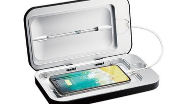 手機螢幕比馬桶蓋還髒 18 倍 PHONESOAP 除菌同時充電