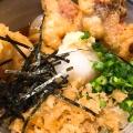 ハーフ&ハーフ - 実際訪問したユーザーが直接撮影して投稿した西新宿居酒屋創作うどん 一滴八銭屋 新宿西口の写真のメニュー情報