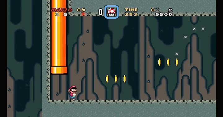 但2D遊戲會遇到原始4:3畫面範圍外無法正常顯示的問題。(如圖中左邊區域背景顯示錯誤)