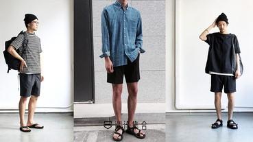 型男和大叔只有一線之隔,3個夏日秘訣,穿著涼鞋後,也不會有大叔的感覺!