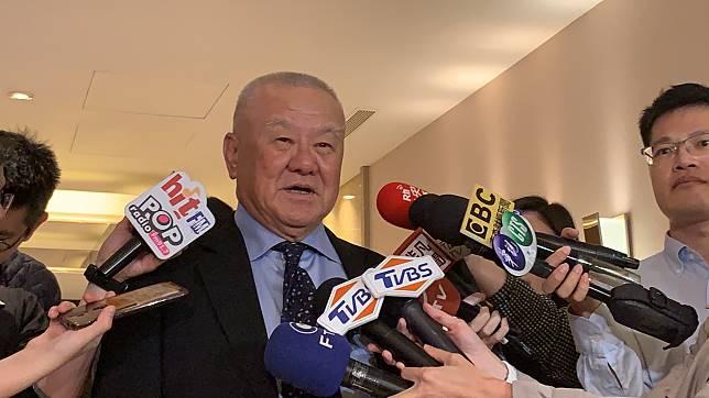 ▲ 工商協進會理事長林伯豐。(圖/記者顏真真攝,2019.4.17)