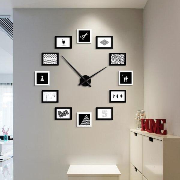照片墻裝飾相片墻臥室掛墻創意組合現代簡約客廳北歐相框墻zzy4742易購3c館