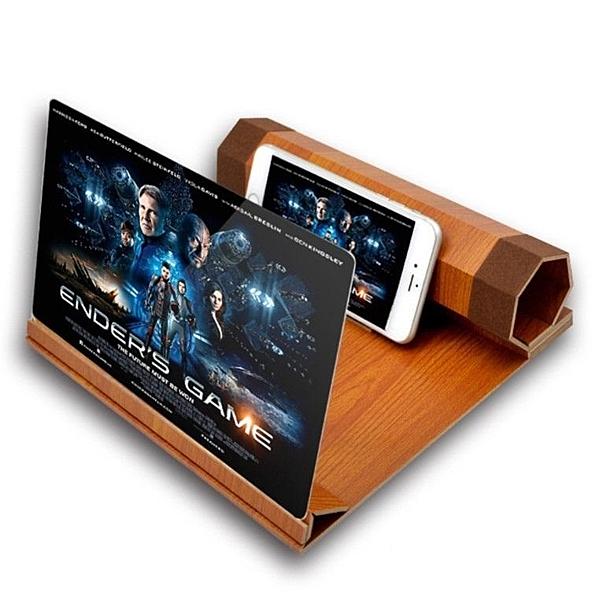 12寸手機屏幕放大器SG505 螢幕放大器 迷你劇院 手機 放大鏡 老花鏡 手機座 移動劇院手機