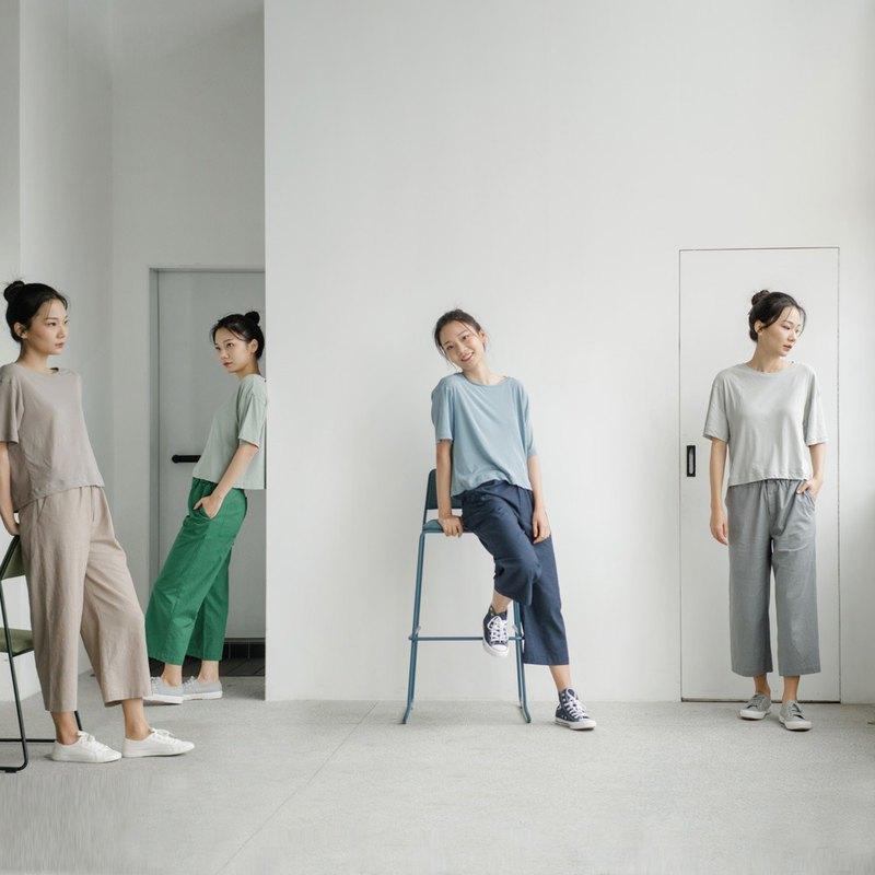 棉麻質感,科技纖維加持, 好褲子包攬妳整個夏季的穿搭。