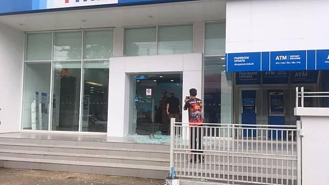 คนร้ายบุกเดี่ยวปล้นธนาคารทหารไทย ใน จ.จันทบุรี