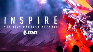 CES 2020:MSI 發表主機、螢幕、筆電、真無線耳機多款產品,同步拉攏電競與創作者市場