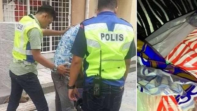 Ilustrasi polisi tangkap pencuri