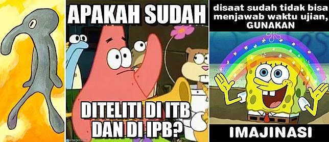 Konyol Abis 10 Meme Spongebob Ini Bikin Ngakak Guling Guling