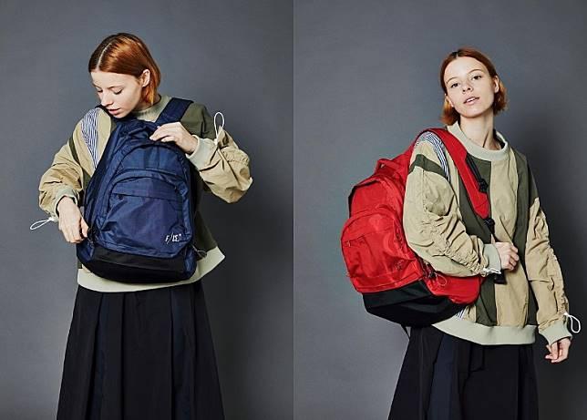 RN Backpack於主要開合處加入抽繩設計,以便調整背囊外觀線條,載物容量達27L。(互聯網)