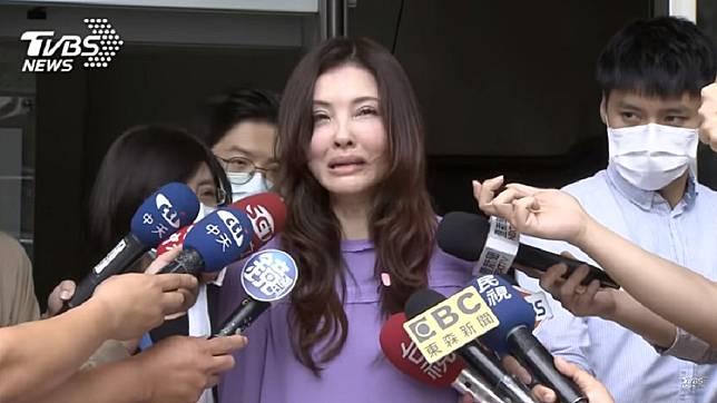 何如芸和王敏錡的離婚訴訟鬧得沸沸揚揚。(圖/TVBS資料畫面)