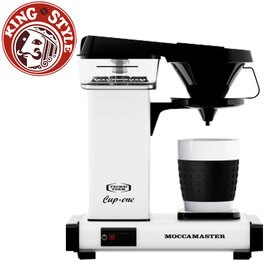 金時代書香咖啡 Technivorm Moccamaster 單杯濾泡式咖啡機 CUP ONE W 白色 (歡迎加入Line@ID@kto2932e詢問)