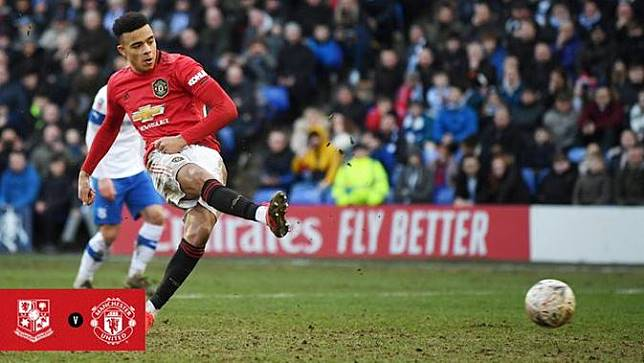 Manchester United Cetak Setengah Lusin Gol ke Gawang Tranmere Rovers