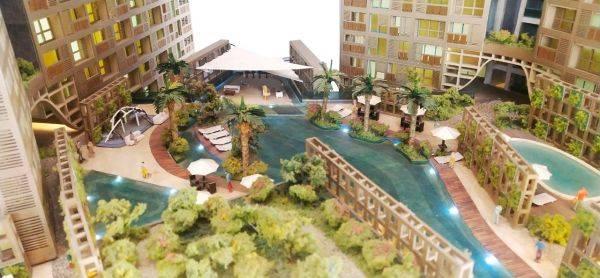 Maket apartemen Cambio Lofts di Alam Sutera, Serpong.
