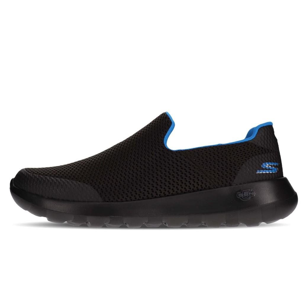 Skechers 健走鞋 Go Walk Max-Focal 黑 藍 懶人鞋 男鞋 54637BKBL 【ACS】
