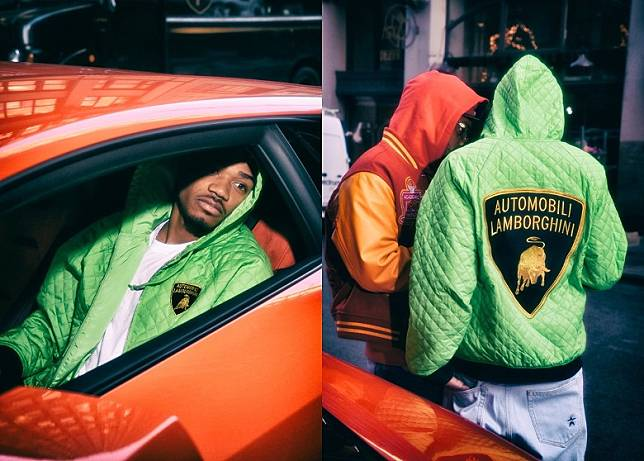 Lamborghini x Supreme Hooded Work Jacket(互聯網)