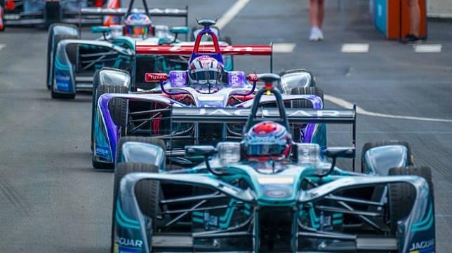 Balap single seater Formula E di New York, Amerika Serikat. Sebagai ilustrasi [Shutterstock].