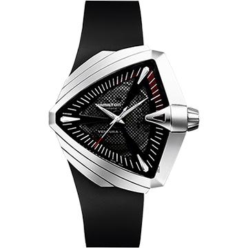 原廠公司貨,瑞士製自動上鍊機芯,藍寶石水晶鏡面盾形設計錶殼,音箱概念網狀錶盤