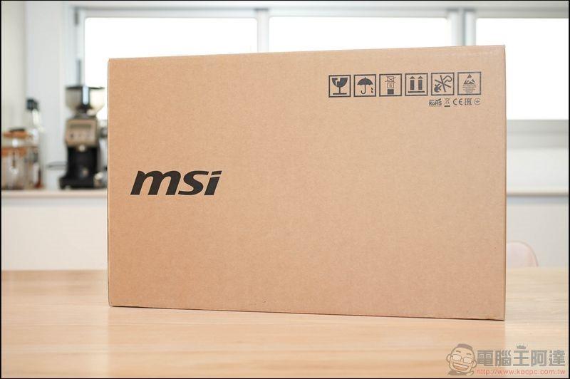 MSI Prestige 15 開箱 - 01
