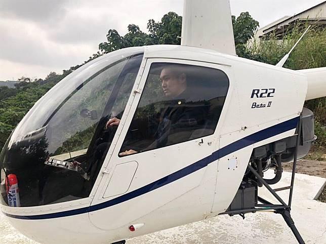 直播天王連千毅霸氣賣直升機助尋「下個齊柏林」