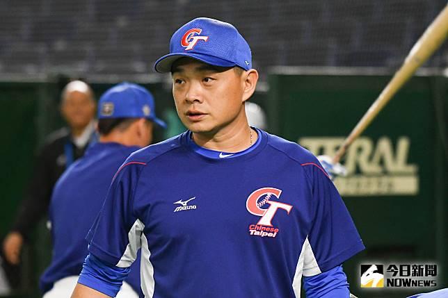 ▲世界棒球12強,中華隊vs.美國隊。中華隊打擊助理教練