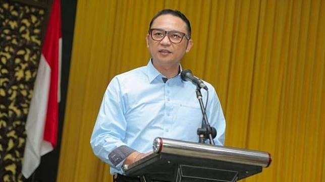Direktur Utama Garuda Indonesia, I Gusti Ngurah Askhara Dana Diputra. (Foto: Dokumen Pelindo III)