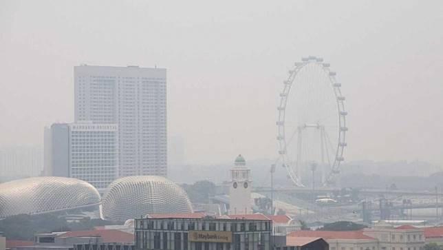 คุณภาพอากาศของสิงคโปร์แย่ลงอีกในวันนี้