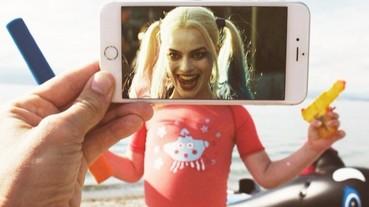 小丑女的肚子有這麼大?手機螢幕「錯位攝影」教你輕鬆玩創意!