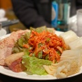 ボッサム - 実際訪問したユーザーが直接撮影して投稿した歌舞伎町韓国料理テンチョの写真のメニュー情報