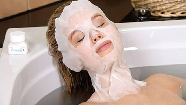 「泡澡敷面膜」的圖片搜尋結果