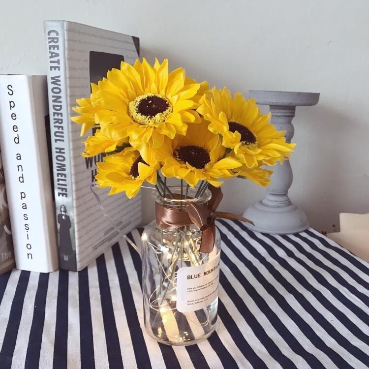 香皂玫瑰花束ins風仿真花花瓶擺件客廳桌面家居裝飾 送女生花創意