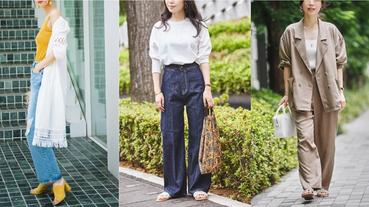「拖鞋穿搭」正是流行!先看日本店員如何將拖鞋式涼鞋穿搭出高度時髦感