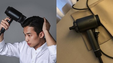 長髮吹久心累?韓國髮廊御用「復古輕型吹風機」,吹髮時間直接砍半!
