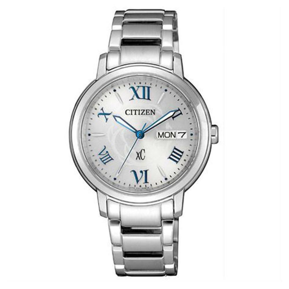 CITIZEN 星辰XC專屬星座光動能時尚腕錶-銀32mm(EW2420-51A)【ERICA STORE】
