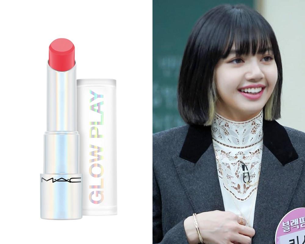 韓星同款唇膏3:MAC 水漾果凍潤唇膏(#FLORAL CORAL),NT.850
