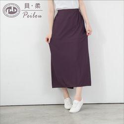 任-【PEILOU】貝柔3M防曬遮陽裙-深紫