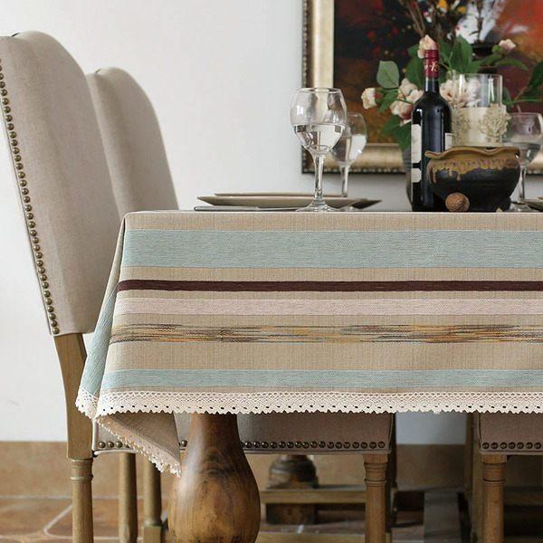 【現貨7折出清】時尚田園法式複古桌布餐桌布 茶几布書桌布電視櫃蓋巾(140*200cm)