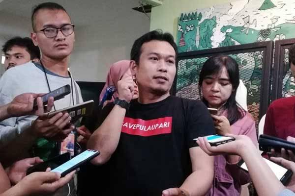 Direktur Eksekutif Walhi DKI Jakarta Tubagus Sholeh Ahmad