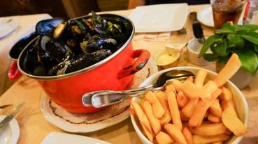 布魯日美食 Restaurant Den Huzaar 比利時淡菜鍋,吃淡菜吃到厭世耶!