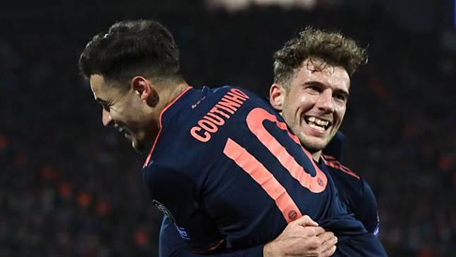Lewandowski Quattrick, Bayern Munchen Bungkam Crvena Zvezda 0-6