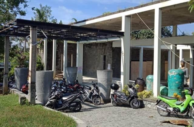 VILA : Vila yang diduga milik putri Raja Arab Saudi di Jalan Pura Dalem Banjar Sala, Desa Pejeng Kawan, Kecamatan Tampaksiring, Rabu (29/1). (PUTU AGUS ADEGRANTIKA/BALI EXPRESS)