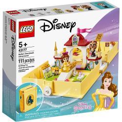 ◎台灣樂高公司貨 ◎適合年齡 : 5歲以上 ◎積木片數 : 111 PCS商品名稱:樂高積木LEGO《LT43177》迪士尼公主系列-Belle'sStorybookAdventures種類:積木適用