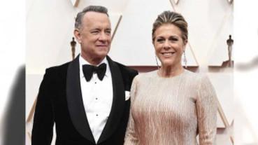 澳洲拍片染上新冠肺炎 湯姆漢克斯夫婦今出院